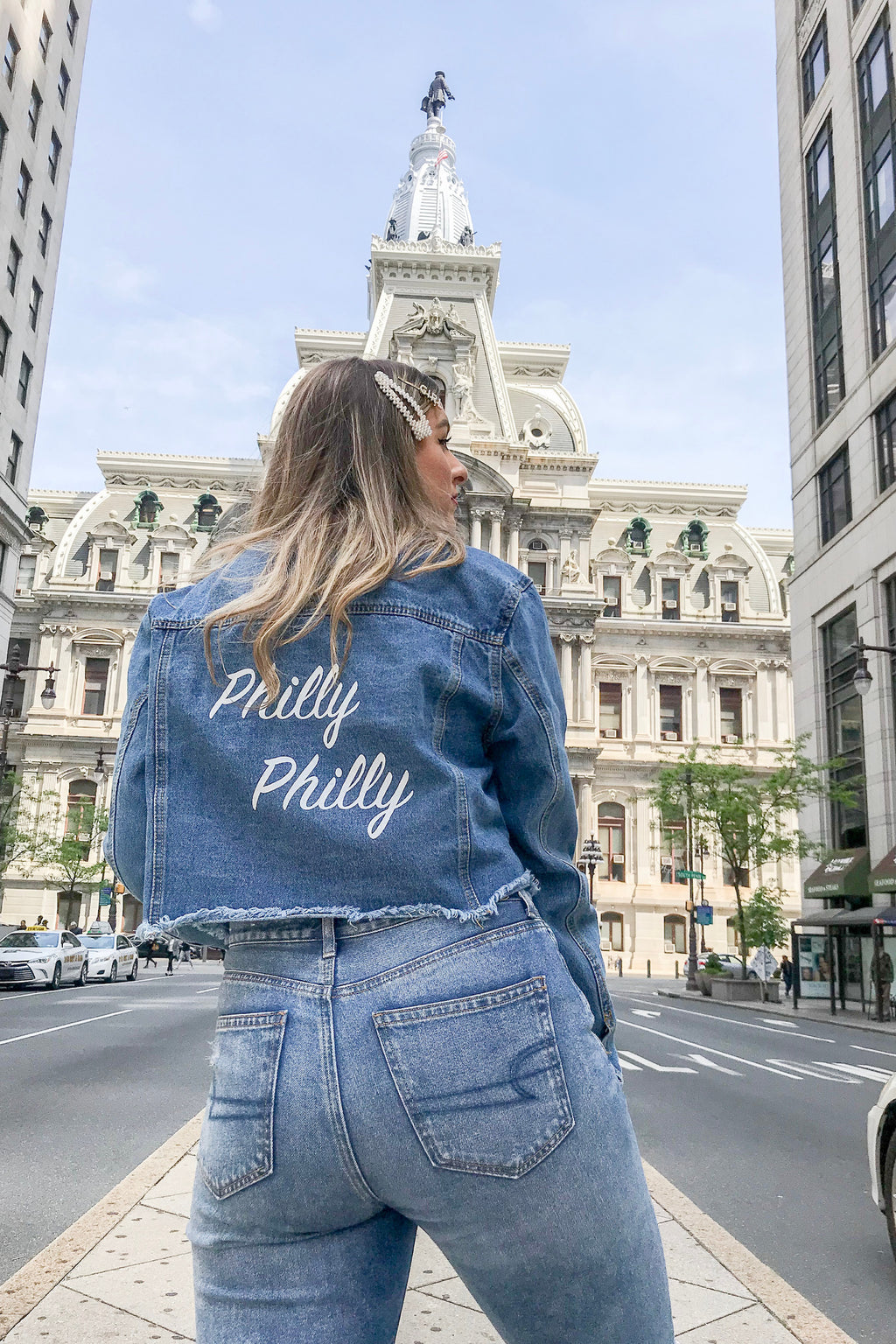 'Philly Philly' Denim Jacket