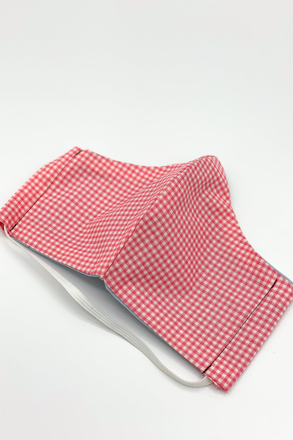 Gingham Your Attention Pink Mask