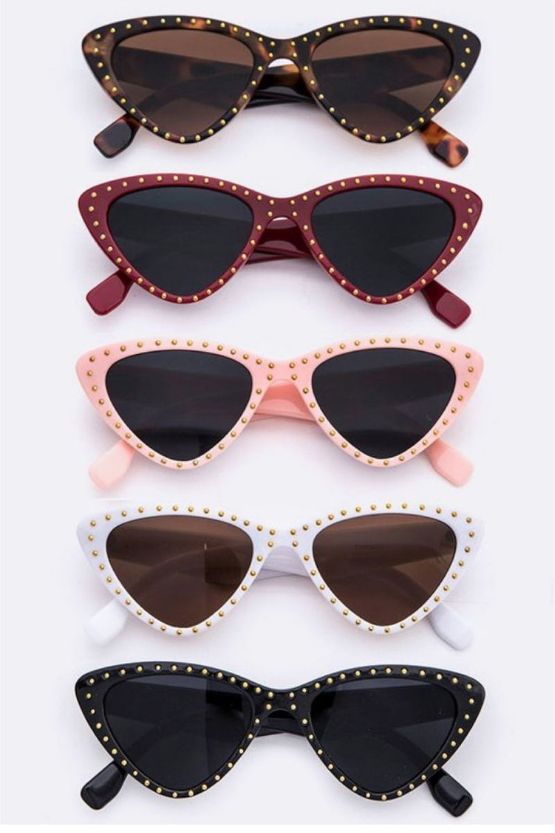 Retro Studded Sunnies