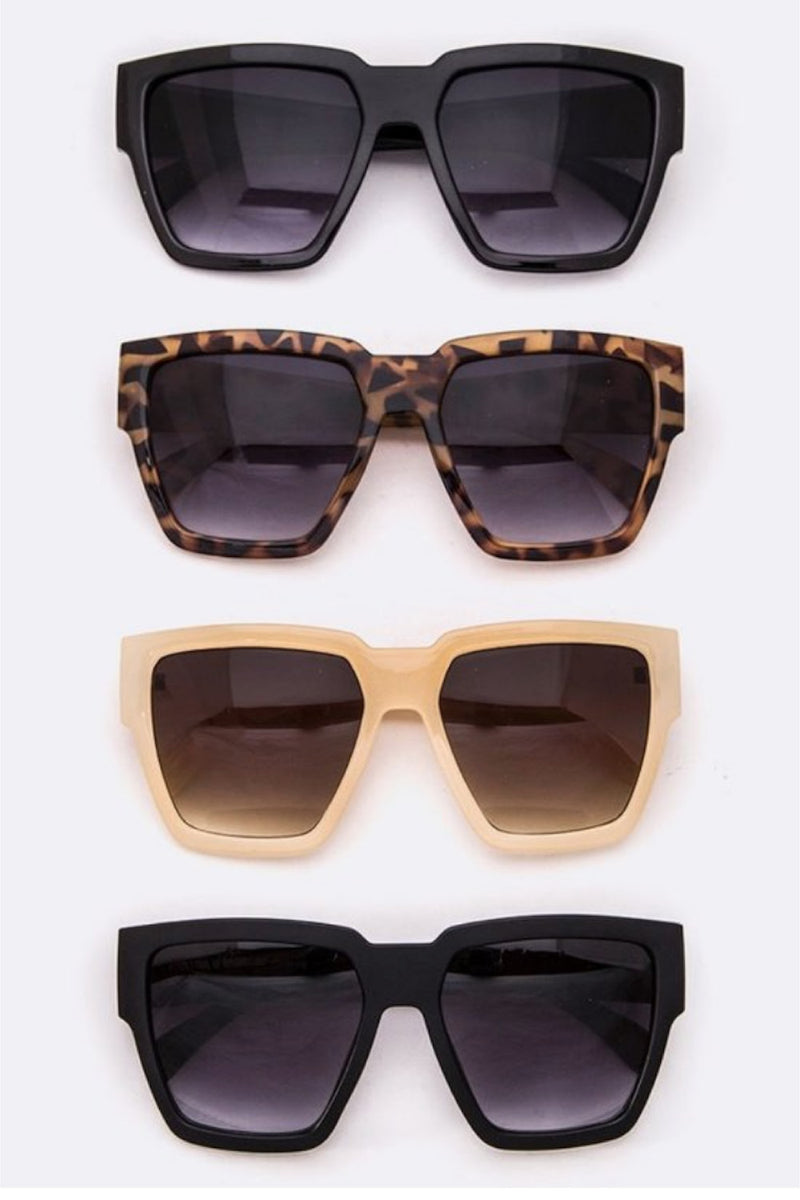 Oversized Geometric Sunnies