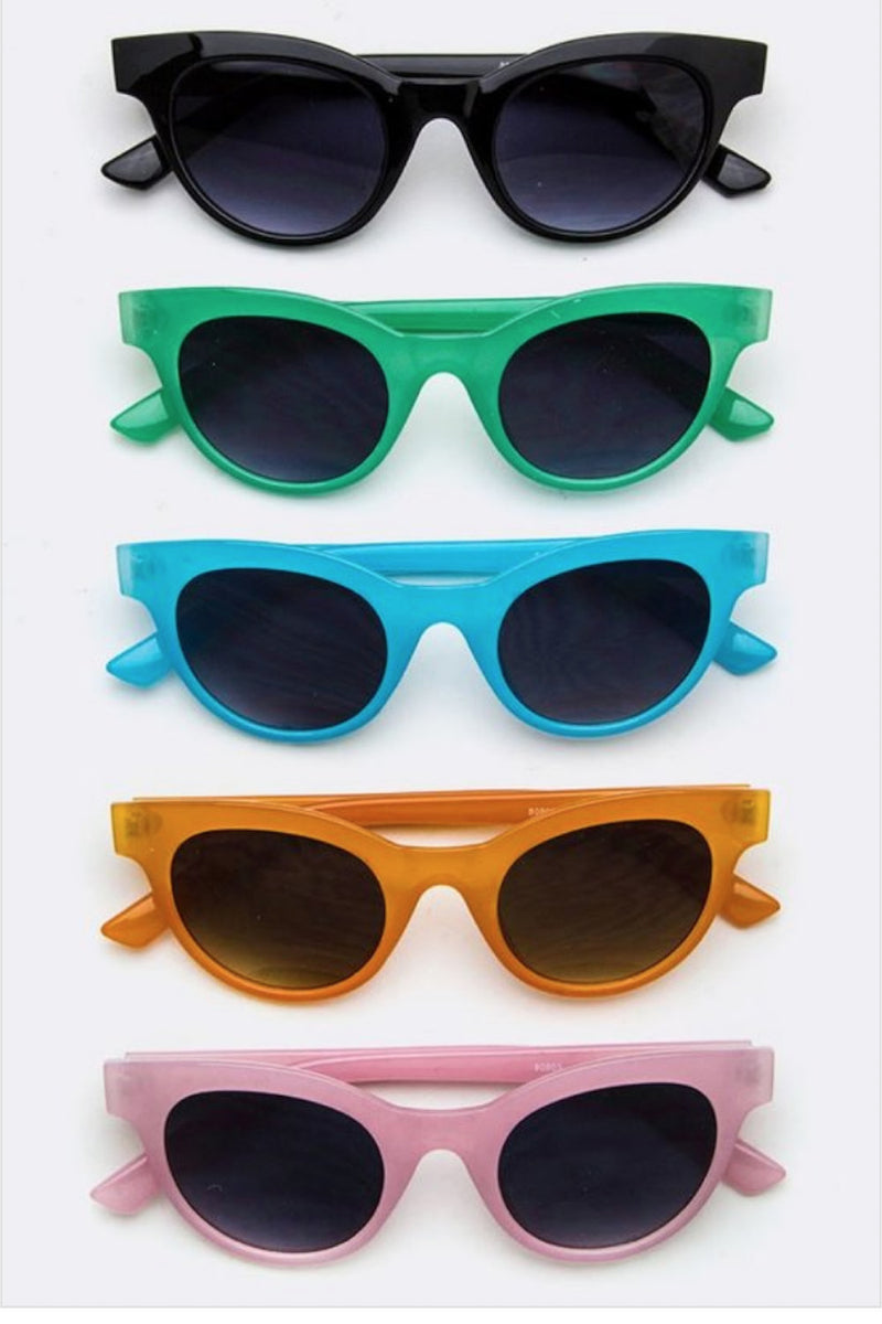 Rounded Frame Sunnies