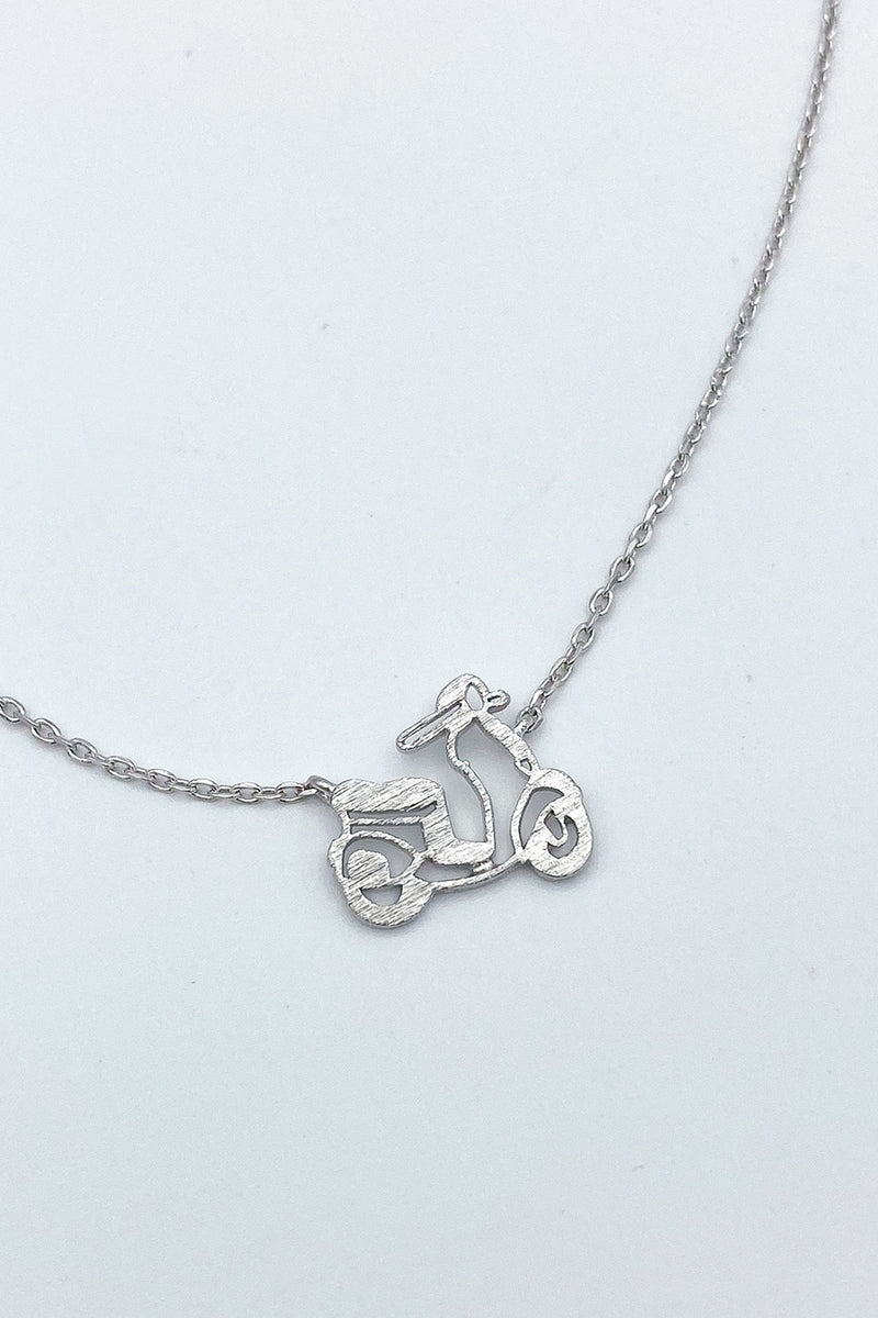 Away We Go Scooter Necklace