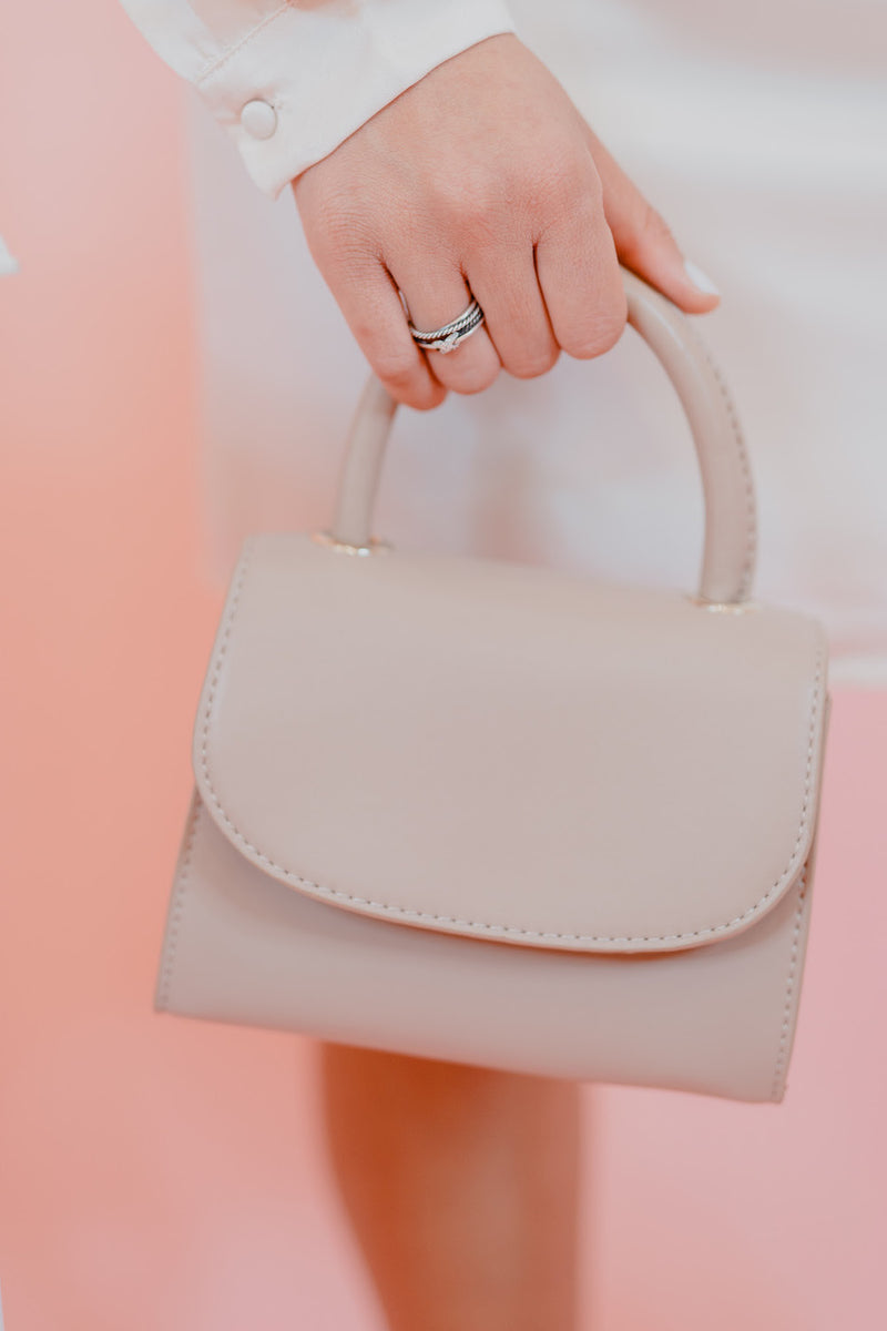 Tan Mini Bag