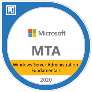 Windows Server Administration Fundamentals Exam 98-365 Exam Voucher