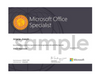 Microsoft Office Specialist (MOS) Word Exam Voucher