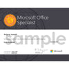 Microsoft Office Specialist (MOS) - Excel Exam Voucher