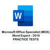 MO-101: Word Expert 2019 Practice Tests