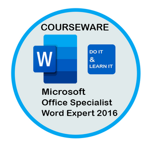 Courseware: Exam 77-726:  Word  Expert 2016