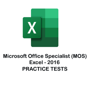 MS Excel Certification 2016 Practice Tests