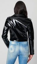 Load image into Gallery viewer, Blank NYC Cropped Patent MOTO Jacket