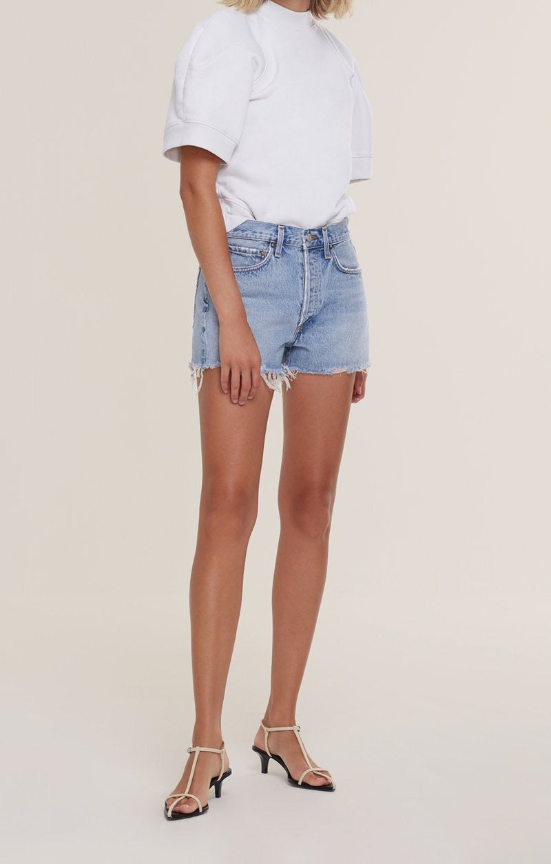 Agolde Parker Vintage Cut Off Short - Encore