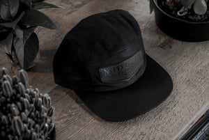 NGT Leather 5 Panel Hat