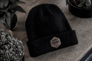 NGT Leather Patch Toque