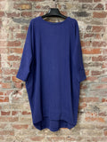 VIOLET BLUE MIDI DRESS, ABLESIA