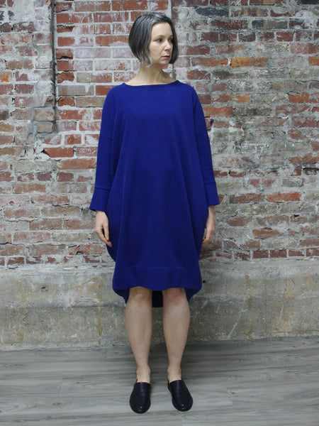 VIOLET BLUE MIDI DRESS, ABLESIA - Kapade Shop