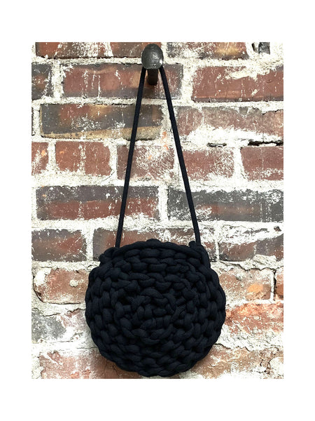 BLACK ROPE BAG, ALIENINA