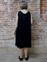 BLACK MULTIFUNCTIONAL DRESS, ELEMENTUM - Kapade Shop