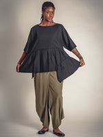 BLACK, RAMIE TOP, Nrk - Kapade Shop