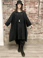 BLACK LINEN, TALA DRESS, TG