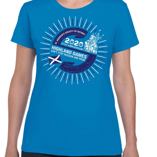 Women's T-Shirt 171st Highland Games