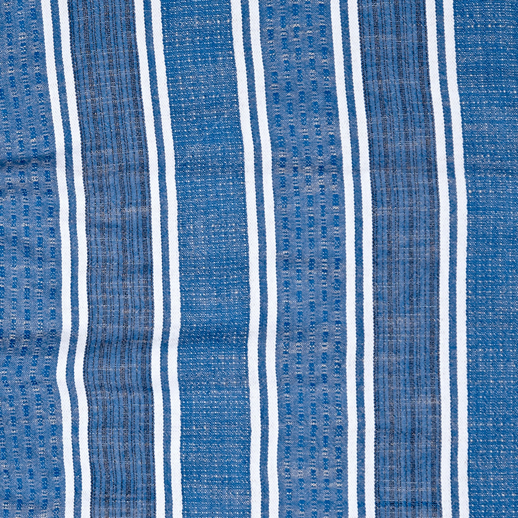 textile swatch of blue jean