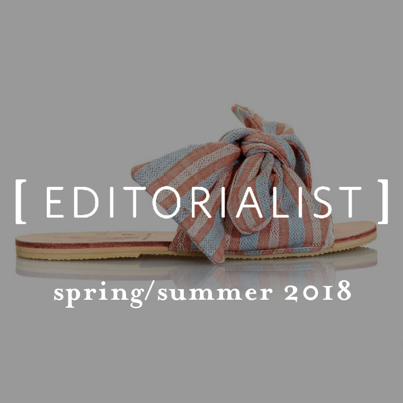 ace&jig in editorialist, spring/summer 2018 press