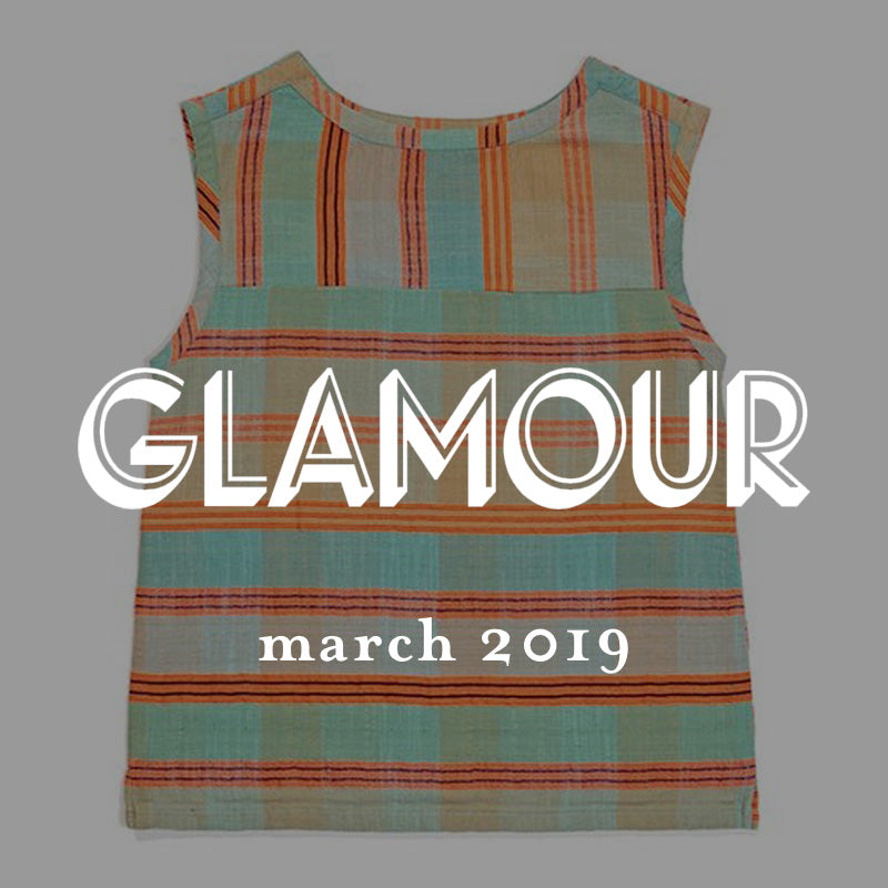 ace&jig top in glamour magazine march 2019