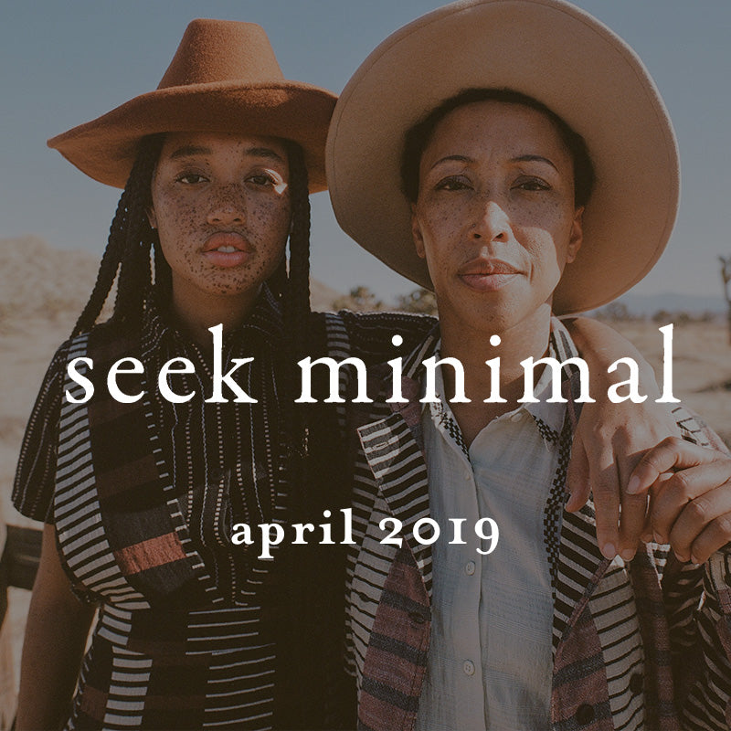 models wearing ace&jig in seek minimal, April 2019