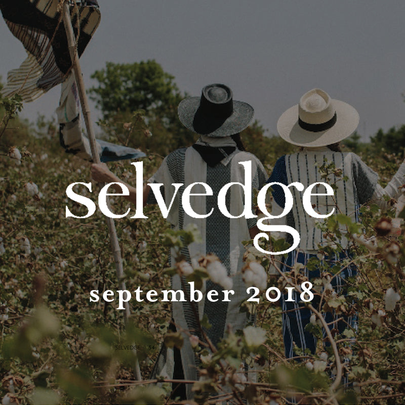 ace&jig featured in selvedge magazine, september 2018