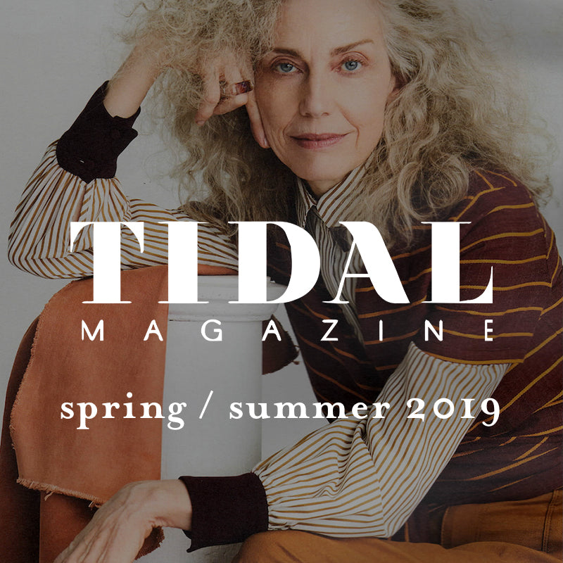 ace&jig featured in tidal, spring / summer 2019