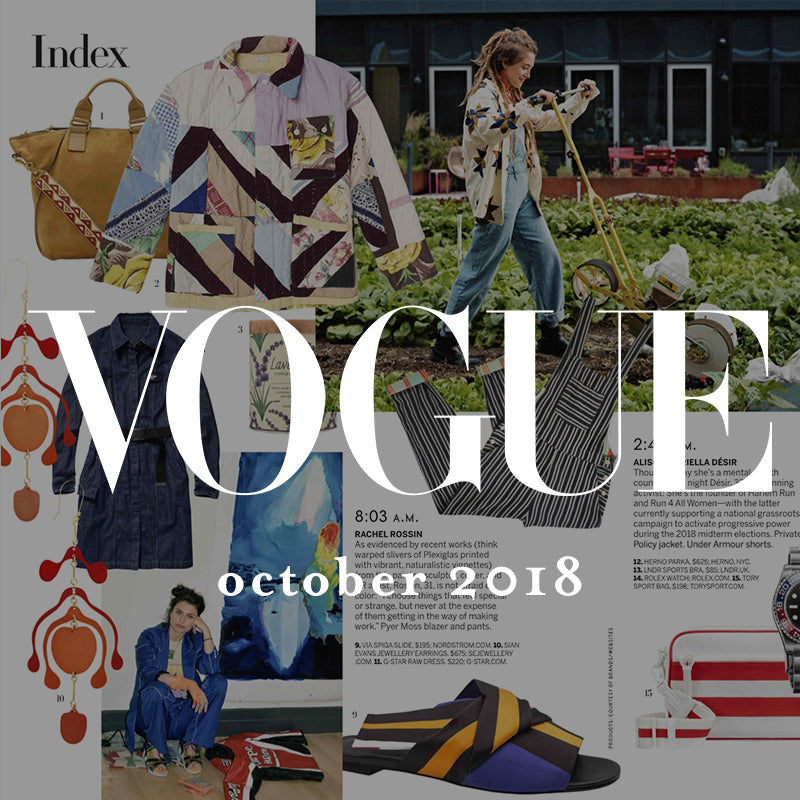 ace&jig in vogue, october 2018 press