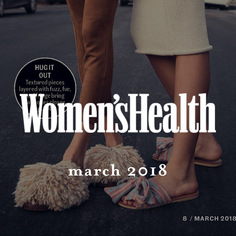 ace&jig featured in women's health magazine, march 2018