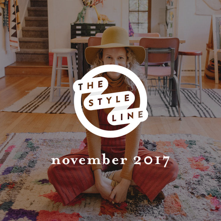 the style line, november 2017