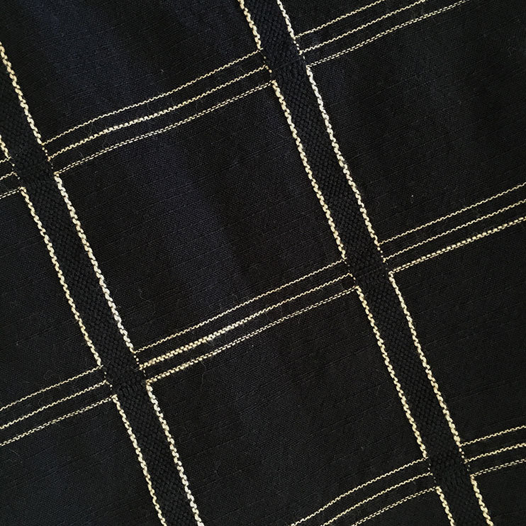 textile swatch of black magic