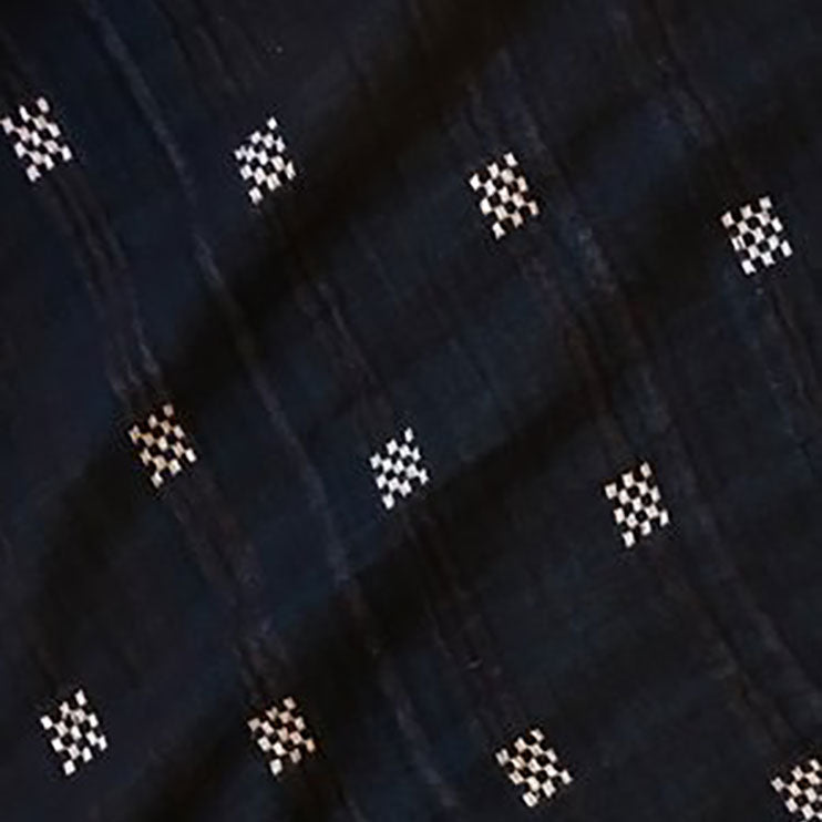 textile swatch of checkerdot