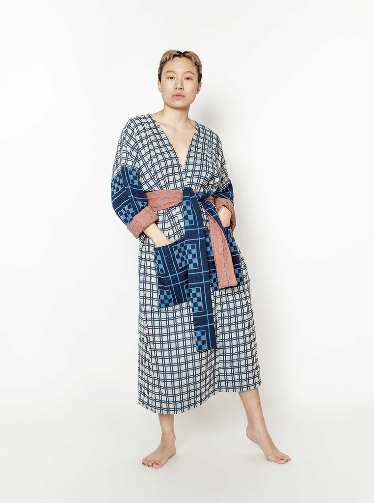 reversible quilted duster | tourist