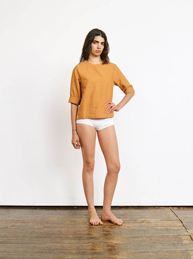 dockside top | spring 20 | XS-XL - umber
