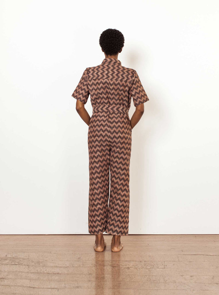 ernie jumpsuit | fall 20 | XXS-2X - herringbone