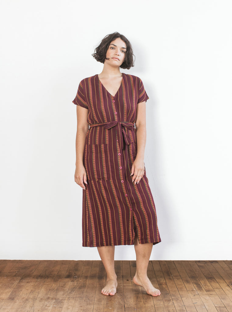 gallo dress - garnet