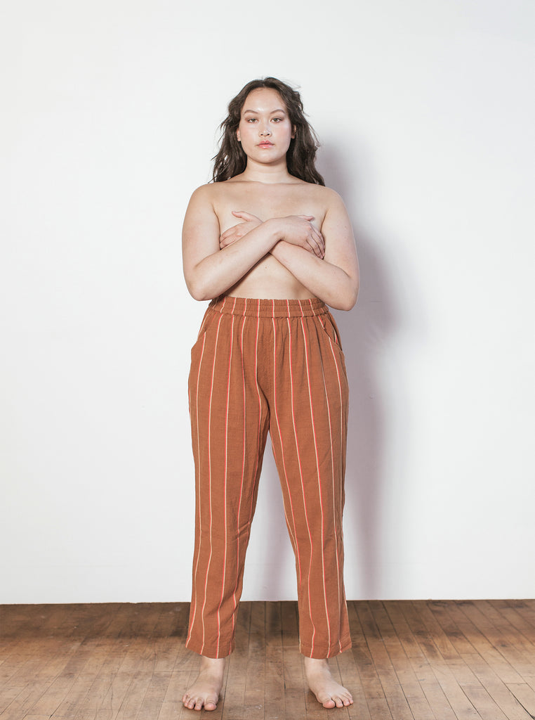 gatsby pant | additional sizes available - cognac