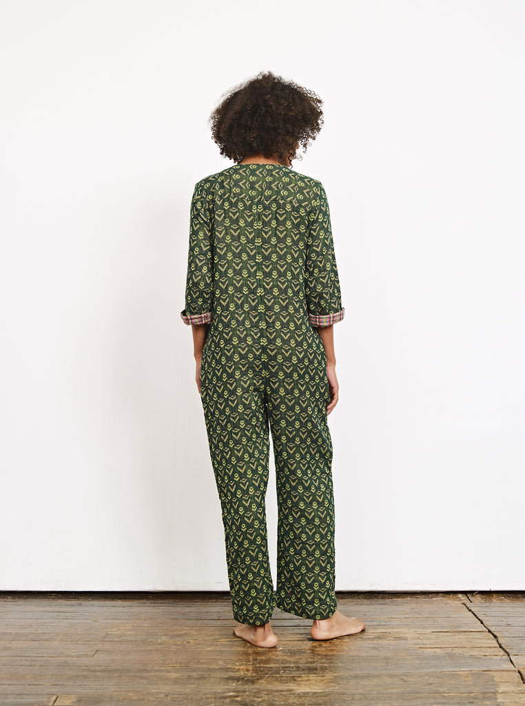 jacob jumpsuit - fern