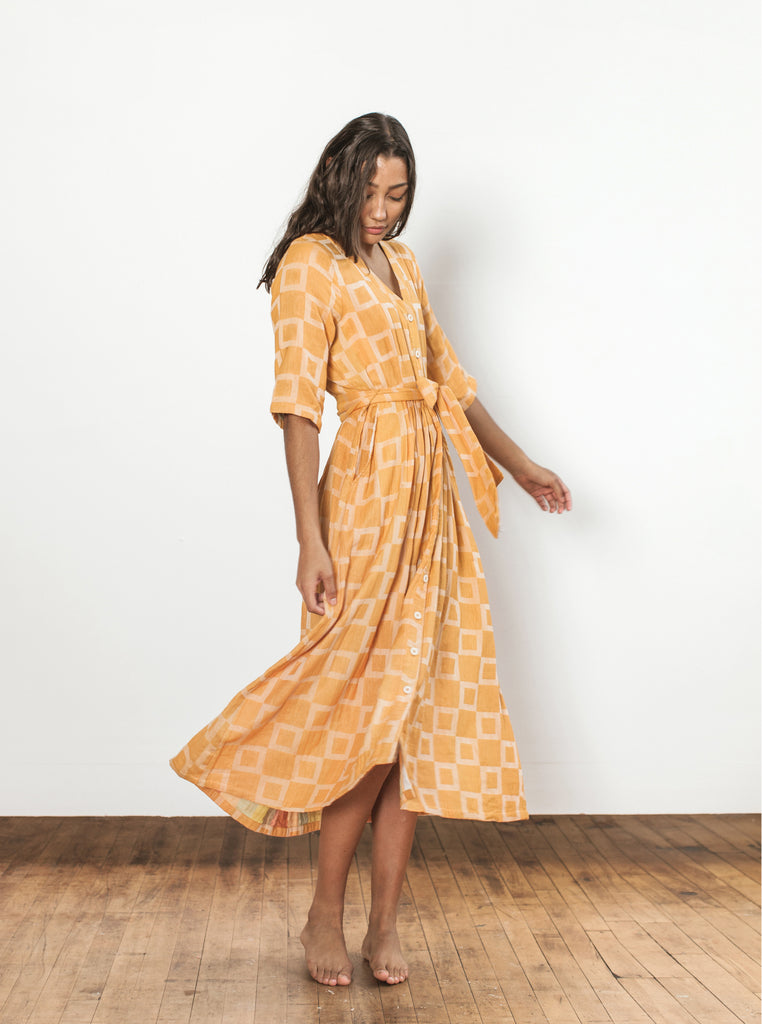 leelee dress | spring 20 | XS-2X - citrus