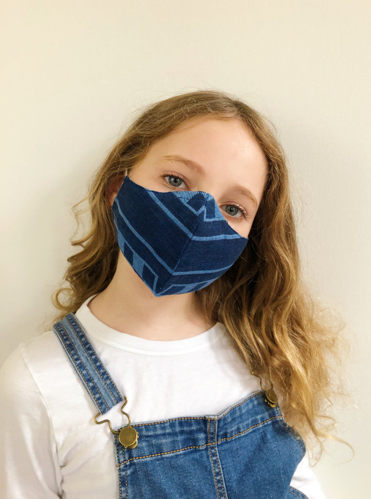 ace&jig textile mask | kid - atlantis