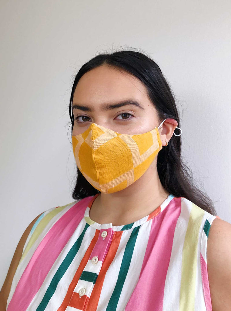 ace&jig textile mask | adult - citrus