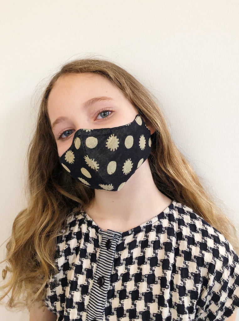 ace&jig textile mask | kid - constellation