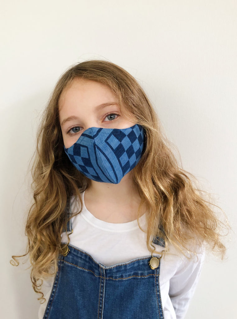 ace&jig textile mask | kid - sail