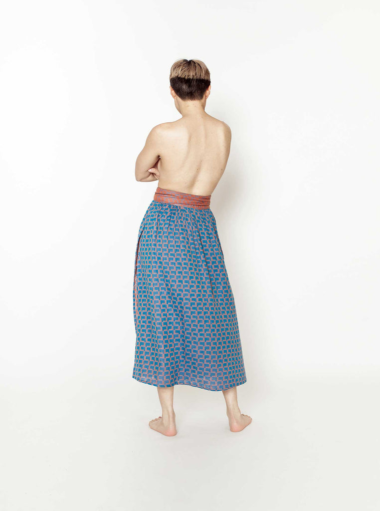page skirt | fall 20 | XXS-4X - electric-blue