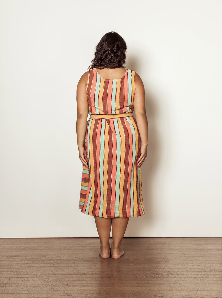 penny dress | summer 20 | XXS-2X - pinwheel