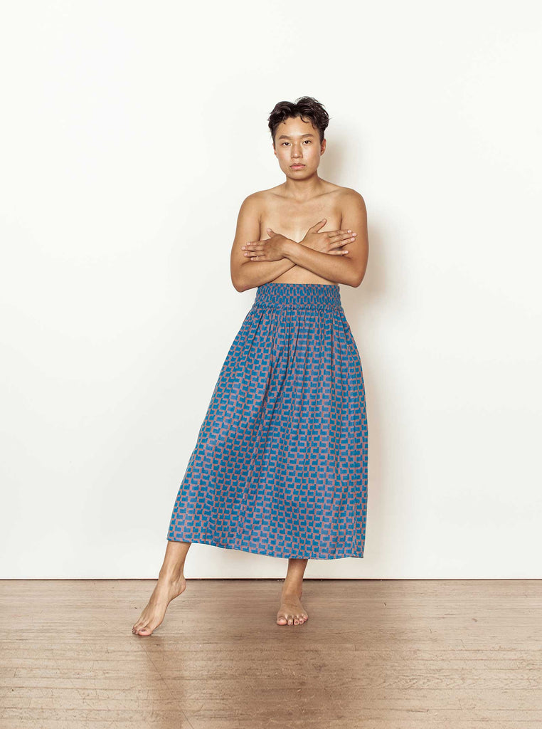 page skirt | fall 20 | XXS-4X - wisteria