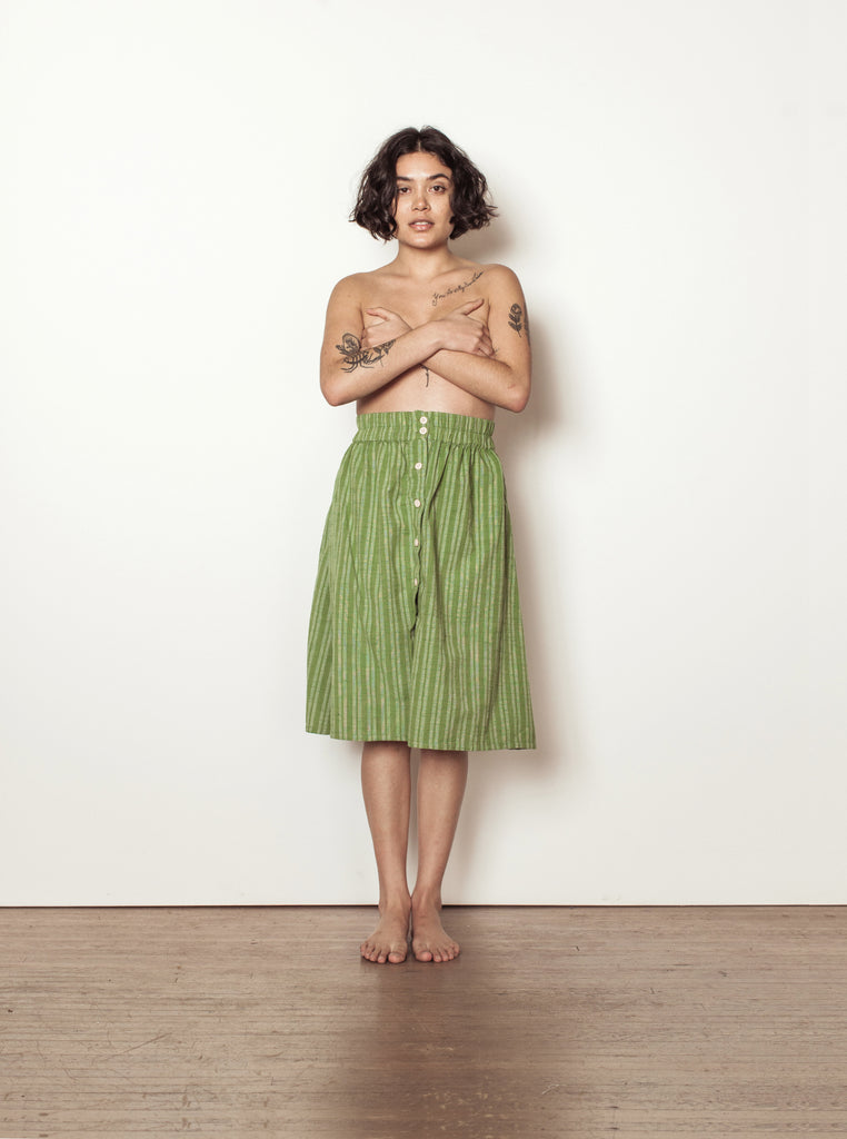 sadie skirt | summer 20 | XXS-2X - palm